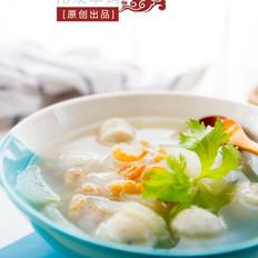【冬瓜鱼丸汤】冬季暖身必备