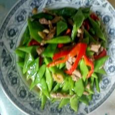 芸豆炒肉丝