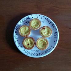 黑加仑蛋挞的做法