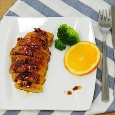 香蒜蜂蜜煎鸡扒