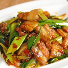 蒜苗小炒肉