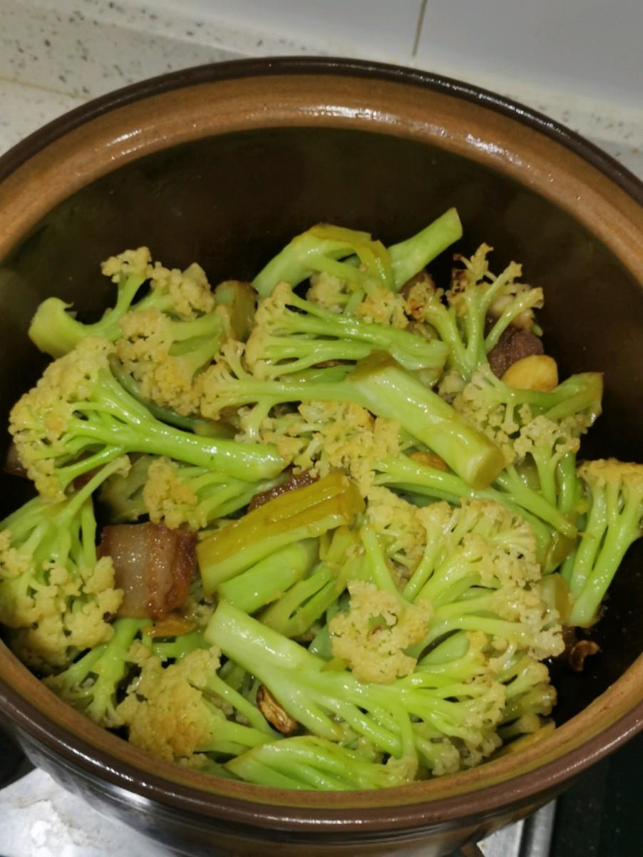砂锅生焗菜花
