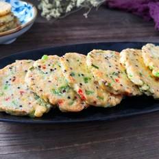 三色藜麦豆腐早餐饼的做法