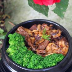 牛排石锅饭