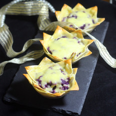 马苏里拉芝士紫薯杯