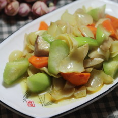 咖喱风味炒四蔬