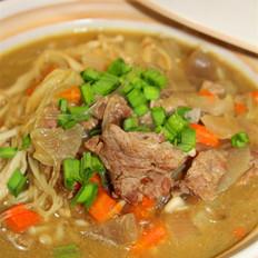 咖哩牛肉粉丝煲