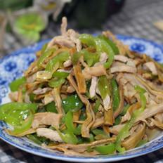 笋干青椒炒肉丝