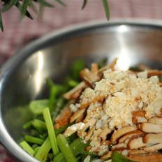 芹菜拌干絲