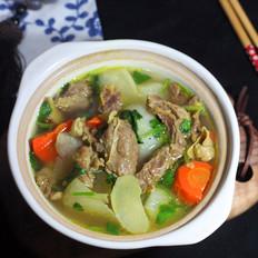 霸王超市|黑椒双萝卜牛肉煲
