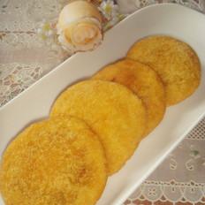 油炸豆沙南瓜饼