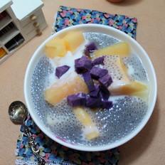 减肥的甜口兰香子水果羹