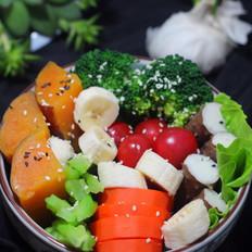 蔬菜杂粮拼盘