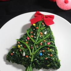 菠菜圣诞树