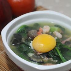 海鲜菠菜汤