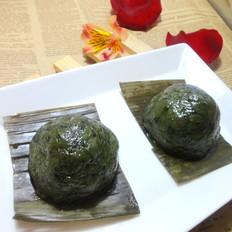 咸菜艾草青团