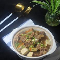 香干炖牛肉