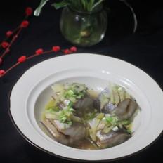 清蒸鳗鱼段