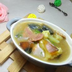 花菜培根汤