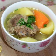 咖喱牛肉土豆煲