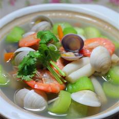 海鲜蔬菜汤