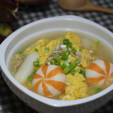 丸子鸭蛋汤