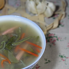 莼菜香菇丝汤