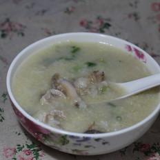 青菜鲍鱼粥