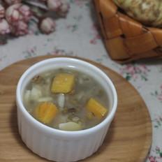 红薯百合绿豆粥