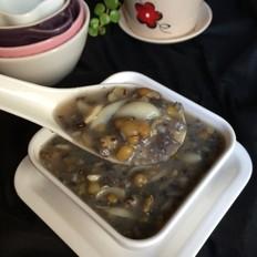 绿豆百合乌米粥