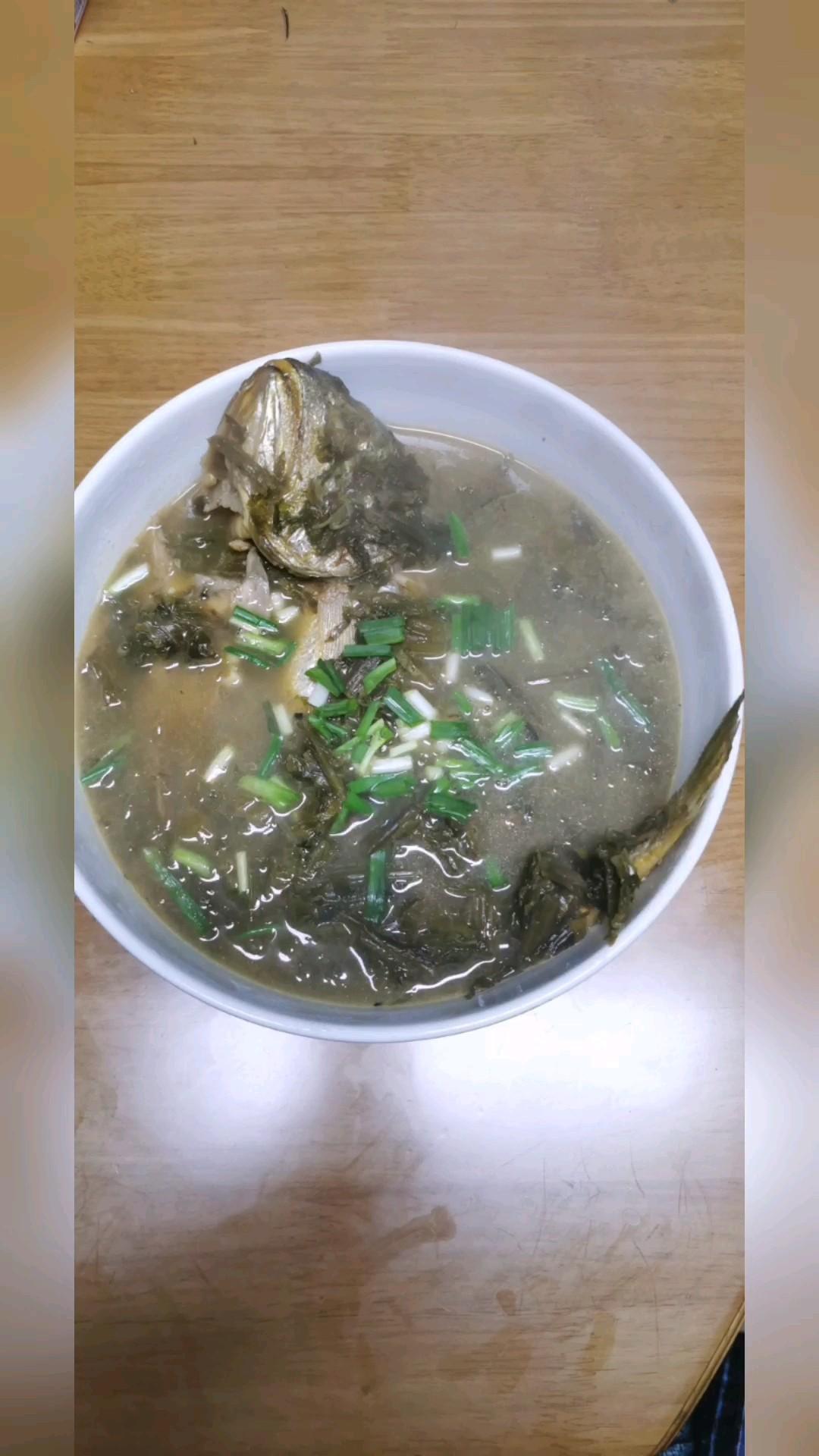 雪菜炖黄鱼