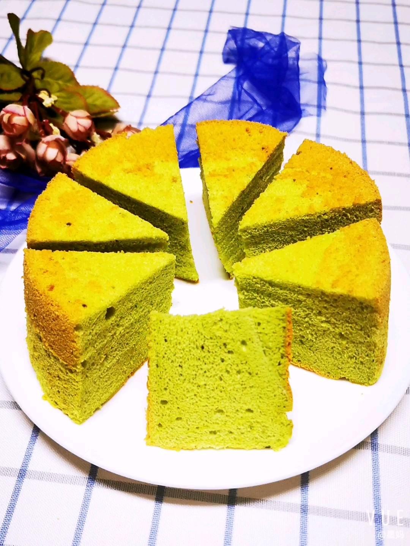 香兰叶戚风蛋糕