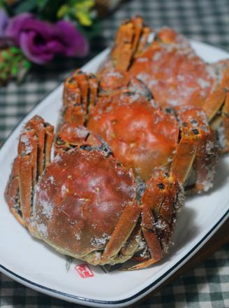 盐焗蟹的做法