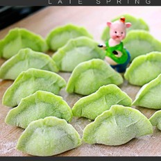 芹菜肉馅海鲜饺子