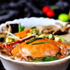 大白菜丸子炖海鲜&南瓜荷叶饼