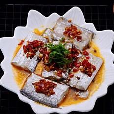 清蒸剁椒带鱼