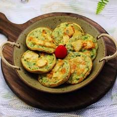 鳕鱼韭菜鸡蛋饼