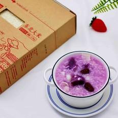 紫薯百合冰糖粥