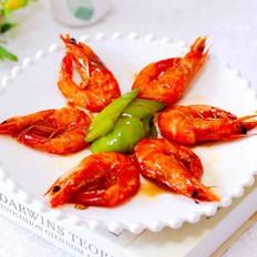 可乐焖海虾