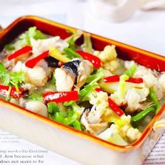 安康鱼清炖菜花