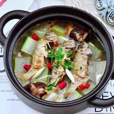 海浮鱼冬瓜冻豆腐煲