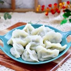 牛肉茼蒿饺子