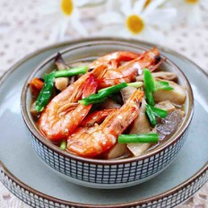 蘑菇海虾汤