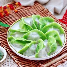 韭菜虾仁翡翠饺子
