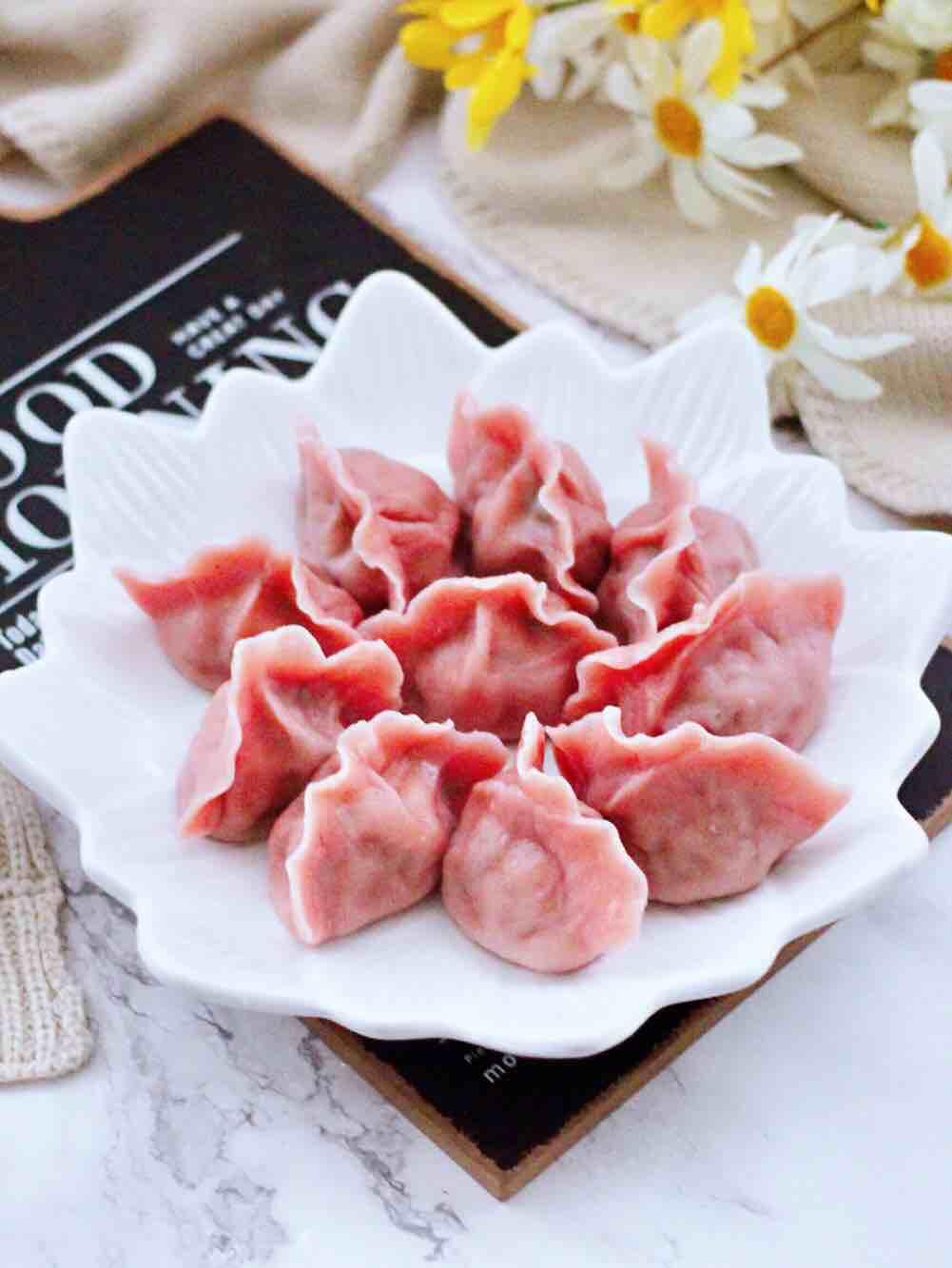 荠菜扇贝丁饺子