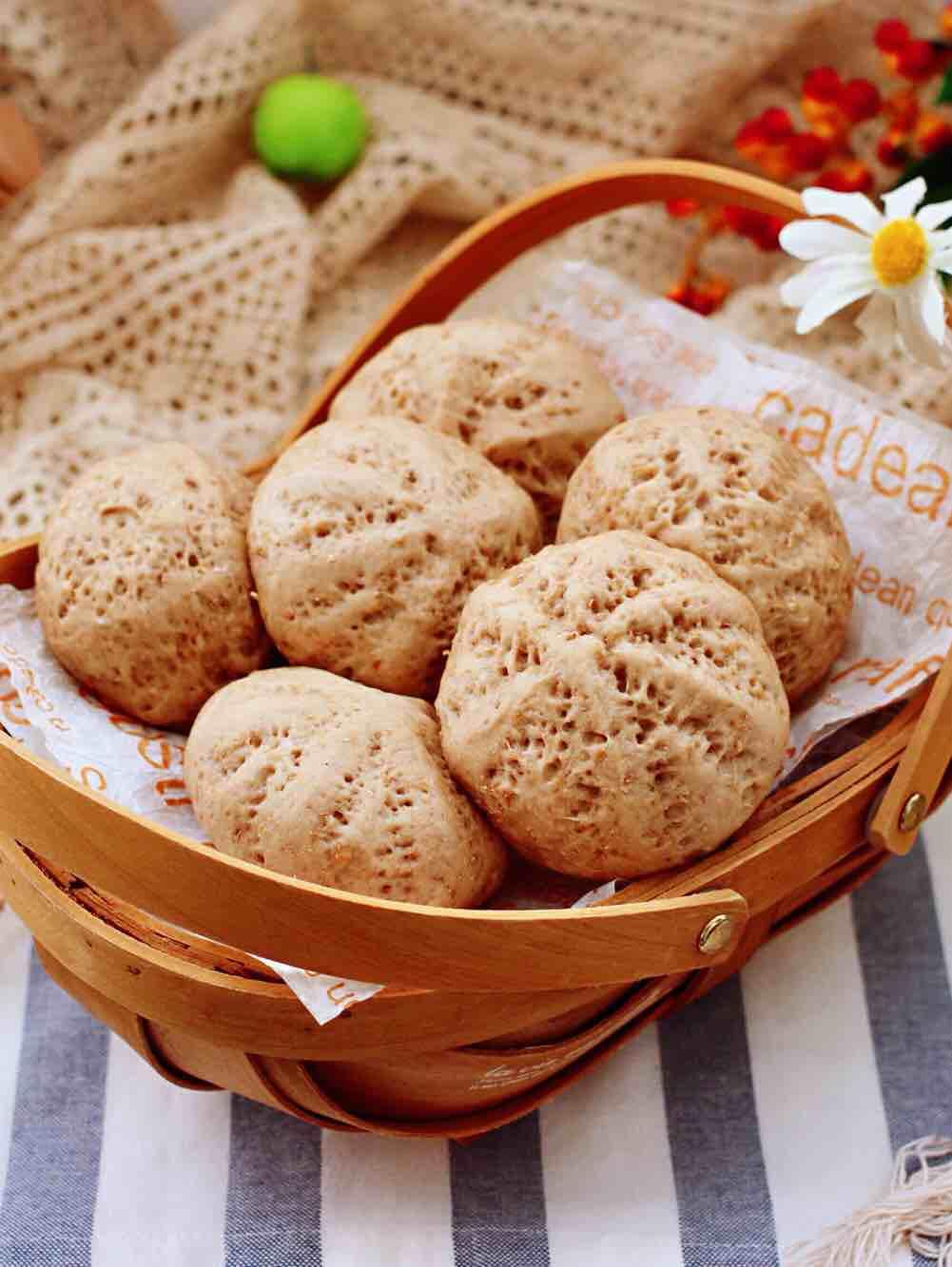 青稞蜜豆包