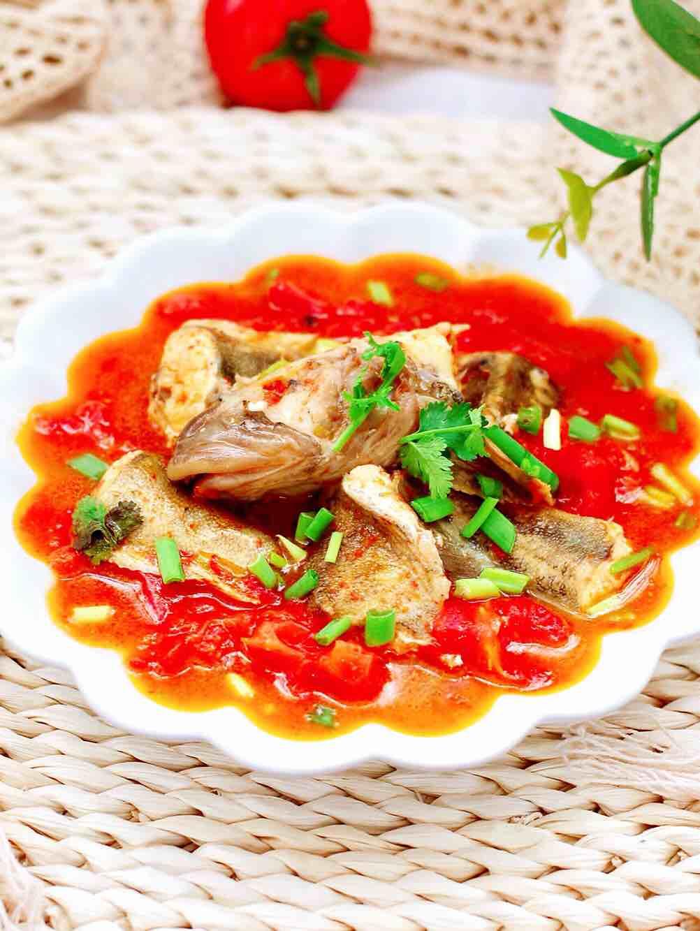 酸汤番茄海鲶鱼