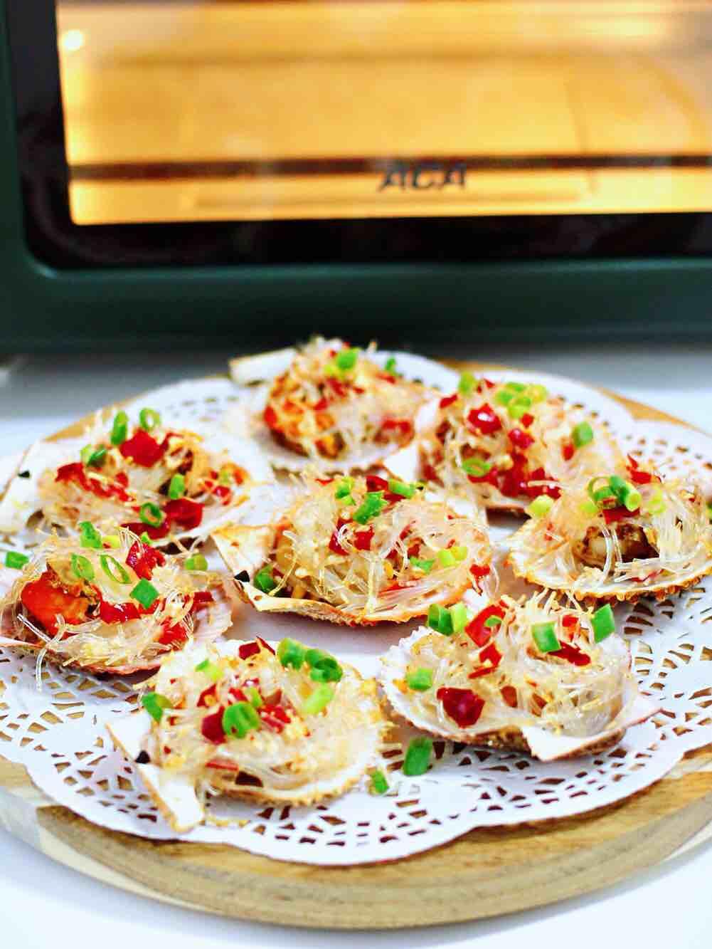 蒜蓉剁椒烤扇贝