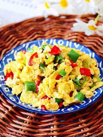 杭椒炒鹌鹑蛋的做法