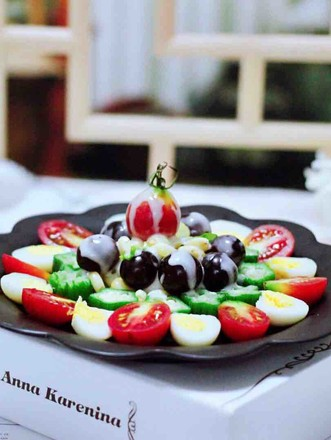 蔬菜水果沙拉的做法